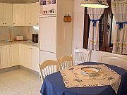 Casa Tranquilidad: Dining corner in the kitchen